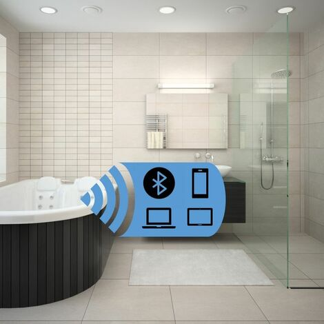Vitura Sound Waves Stereo Speaker for Acrylic Baths Bluetooth Technology