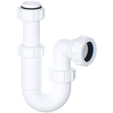 Viva 32mm Telescopic Basin Sink P Trap Easi-Flo Bathroom Waste Pipe