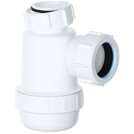 "Viva Sanitary 32mm (1¼"") EASI-FLO Shallow Bottle Trap"