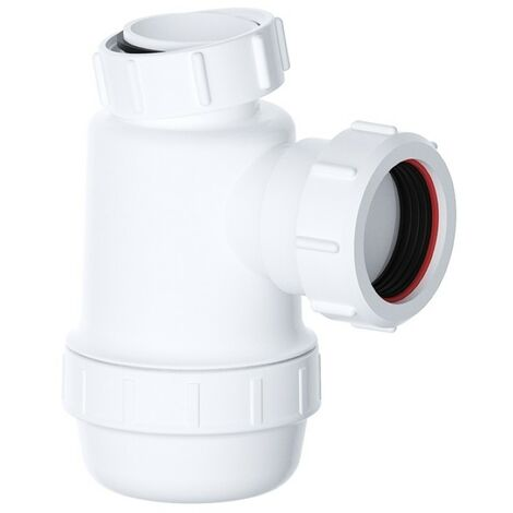 "Viva Sanitary 40mm (1½"") EASI-FLO Shallow Bottle Trap"