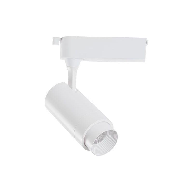 Alex Faretto Monofase a LED 25W installabile su binario, Bianco - Vivida