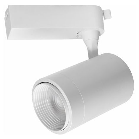 Vivida - Alex Spot Monophasé LED 15W Installable Sur Binaire Blanc - VTL 03_15 BI 4000K