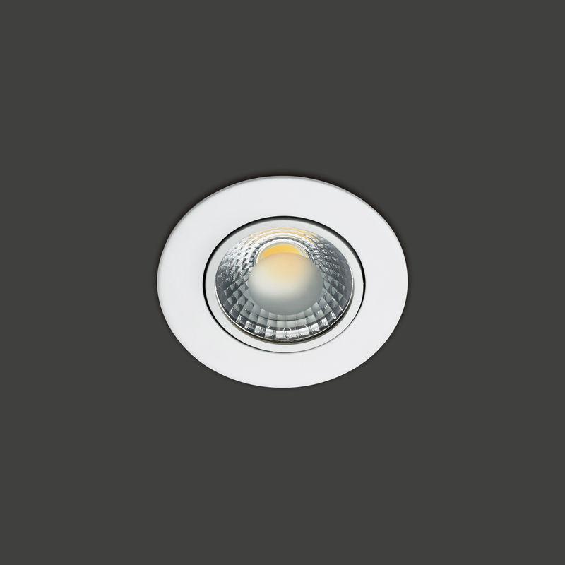 Vivida - JUMP faretto incasso cob led orientabile bianco 3000K (Luce Calda) 5W