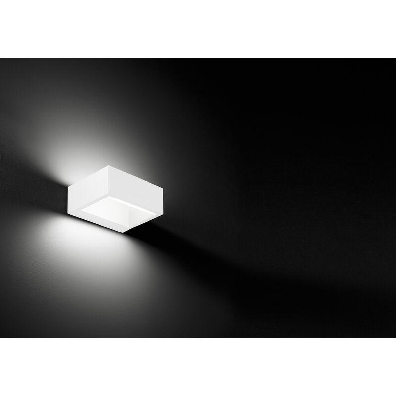 SKYLINE applique rettangolare led Bianco - Vivida