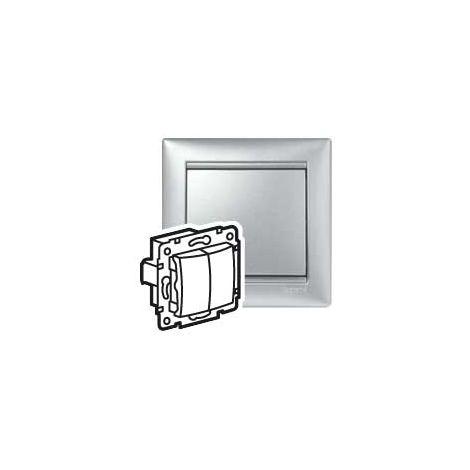 VL-INT DOBLE 1P 10A ALUM LEGRAND 770105