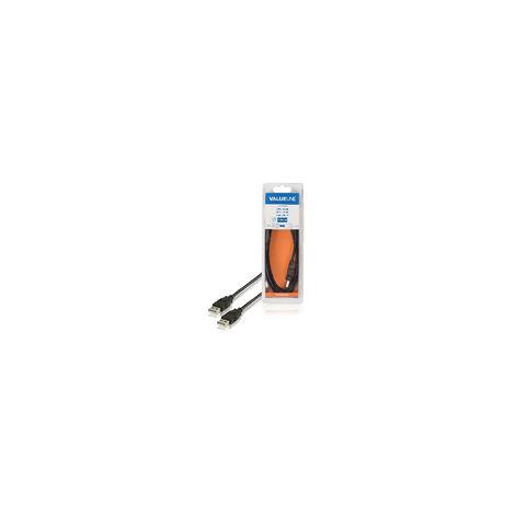 VLCB60000B20 CABLE USB-A 2.0 MACHO-MACHO 2 MTS