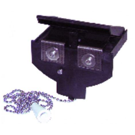 VMC accessories - Regulation element THERMOGAZ 20/75 m3/h - ANJOS : 2750