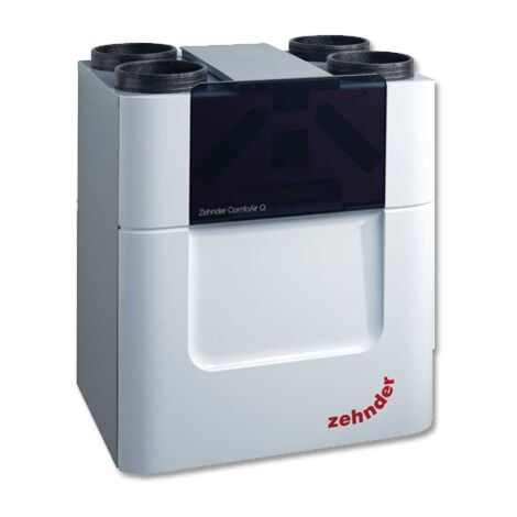 VMC double flux - ComfoAir Q350 ST ZEHNDER COMFOSYSTEMS - 471502083 Une VMC double flux permet de renouveler l'air du logement tout en récupérant les calories de l'air extrait grâce à un échangeur de chaleur. L'extraction se fait par la cuisine et les piè
