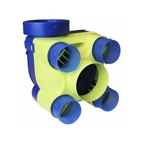 Groupe VMC Hydra ST 2 - Simple flux hygroréglable - 196m³/h - 33dB - 4 sanitaires