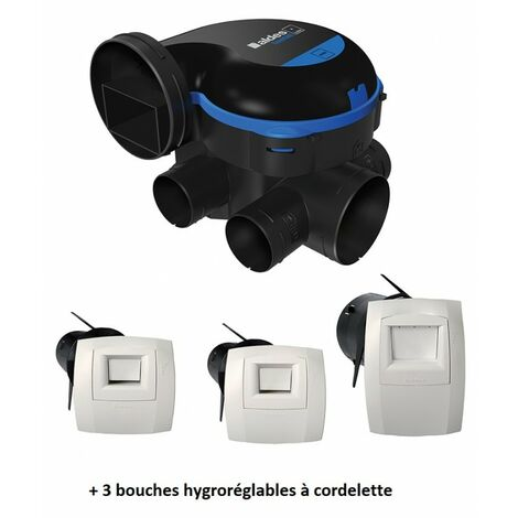 VMC simple flux hygroréglable EasyHOME HYGRO PREMIUM MW