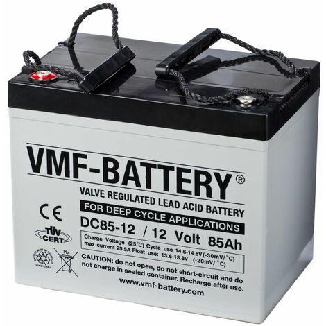 VMF Batterie AMG à décharge profonde 12 V 85 Ah DC85-12