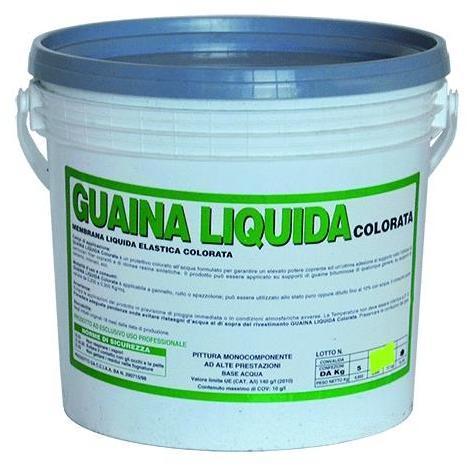 Vodichem Guaina Liquida Colorata 'Vodicolor Extra' Kg. 5 - Rossa