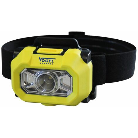 Vogel 601521 - Linterna ATEX para cabeza IP67 - Flujo luminoso 75/150 lm -3 Watt