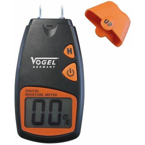 Vogel 641006 - Medidor de humedad electrónico digital - Rango de medición en madera: 5% - 40%
