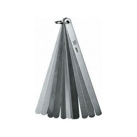 Vogel - Juego galgas espesores para válvulas - Templado - 13 láminas