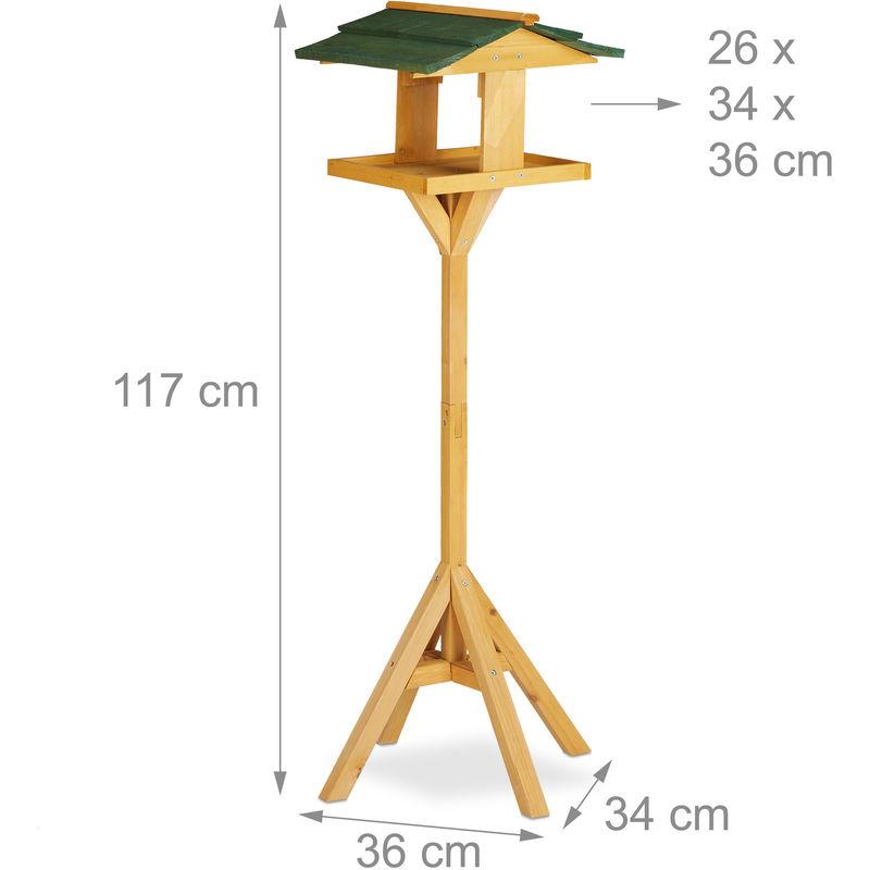 vogelhaus stehend