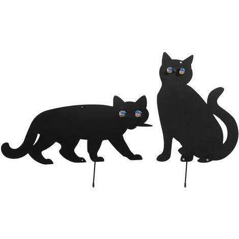 "main image of ""Vogelschreck Katzen, 2er Set"""