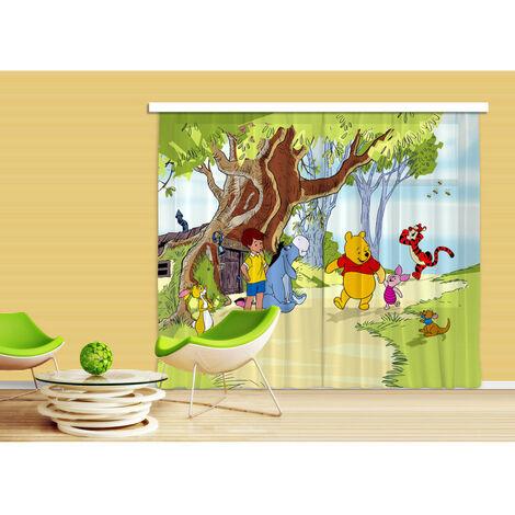Voilage Winnie l'Ourson et ses amis Disney