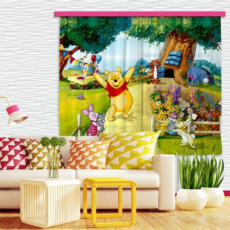 Voilage Winnie l'Ourson Jardin Disney