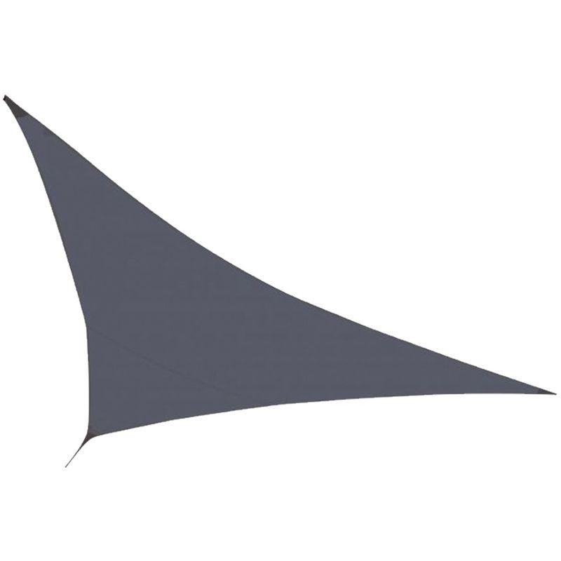 Cémonjardin - Voile d'ombrage Gris 350 x 350 x 340 cm