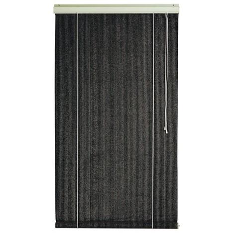 Voile d'ombrage pour Pergola verticale à enrouleur Ardoise Ajouré en polyéthylène tressé 165 g / m² anti-UV - Dim : 120 x 180 cm