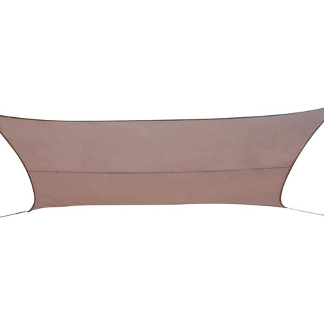 Voile d'ombrage rectangulaire 3 x 4 m - Curacao - Taupe