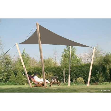 VOILE D'OMBRAGE RENFORCEE TRIANGLE 4,4 X 4,4 M DICKSON ORCHESTRA