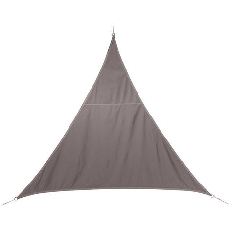 Voile d'ombrage triangulaire 3 x 3 x 3 m - Curacao - Taupe