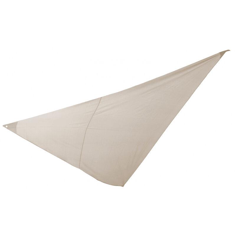Essenciel Green - Voile d'ombrage triangulaire 5x5x5m beige