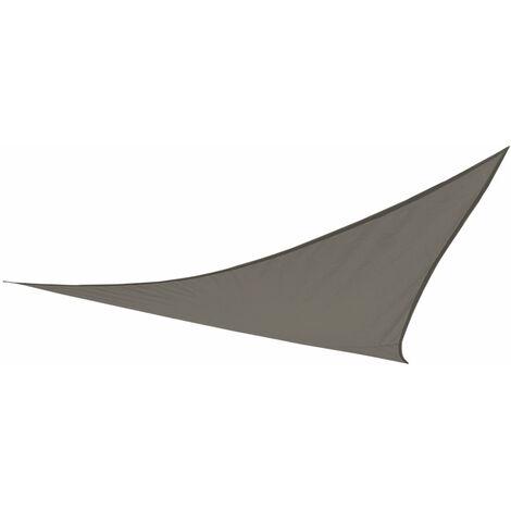 Voile d'ombrage Triangulaire Couleur Crème 500 x 500 x 500 cm Aktive Garden 53909