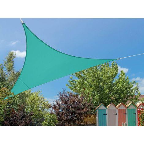Voile d'ombrage triangulaire Flex 3,60 x 3,60 x 3,60 m - Lagon