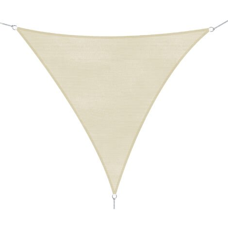 Taille 3 x 3 x 3 m Extérieur Respirant Sun Shade Sail Protection UV Triangle Voile