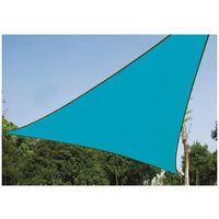 Voile Solaire - Triangle - 5 X 5 X 5 M - Couleur : Bleu Ciel