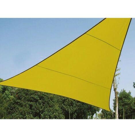 VOILE SOLAIRE - TRIANGLE - 5 x 5 x 5 m - COULEUR: VERT LIME (RI8386)
