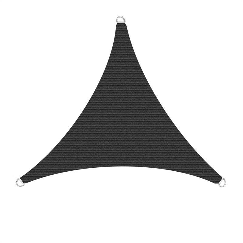 Estexo - Voiles solaires Voiles de protection solaire Protection solaire Protection UV Anthrazit / 4x4x4m (Dreieck)