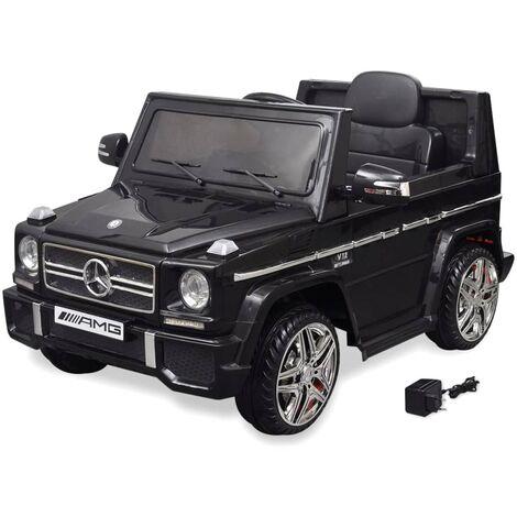 Voiture à Chevaucher Électrique Mercedes Benz G65 SUV Noir