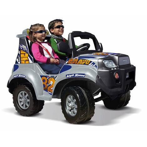 Voiture électrique pour enfants Jeep Suv X STORM BRAVO 12V de Feber