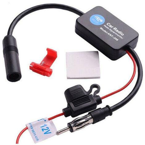 Voiture Voiture Fm Am Radio Amplificateur De Signal Stereo Booster 12V