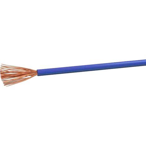 VOKA Kabelwerk H05VK1BL Schlauchleitung H05V-K 1 x 1mm² Blau 100m Y121851