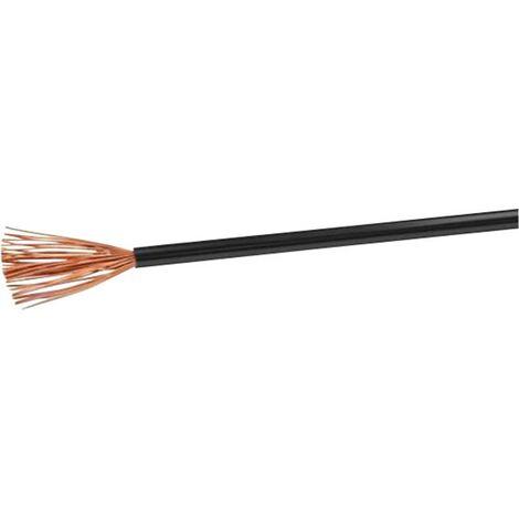 VOKA Kabelwerk H05VK1SW Schlauchleitung H05V-K 1 x 1mm² Schwarz 100m Y121881