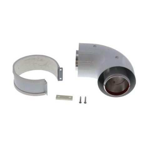 Vokera Standard Efficiency 90 Degree Flue Bend 2359059