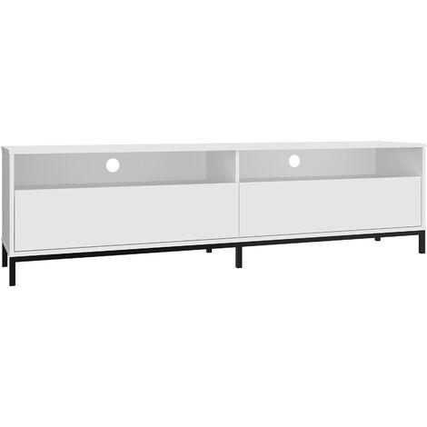 Vola White TV Unit - 180cm