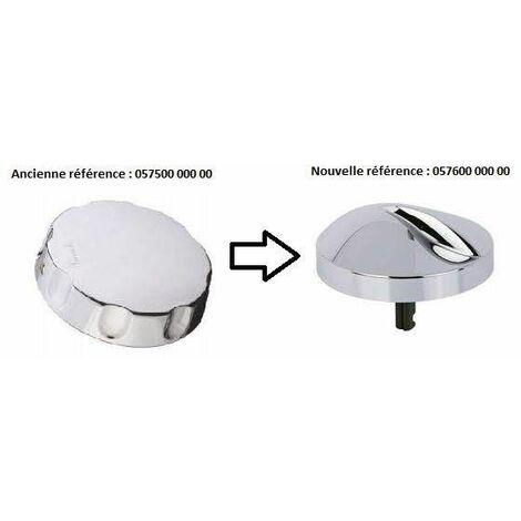 Volant ABS en plastique chromé pour vidage baignoire 5814/5821/5826/5827