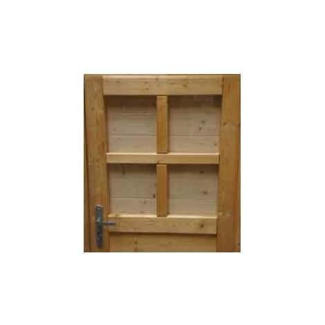 Volets intérieurs pour abri 28 mm (lot de 2)