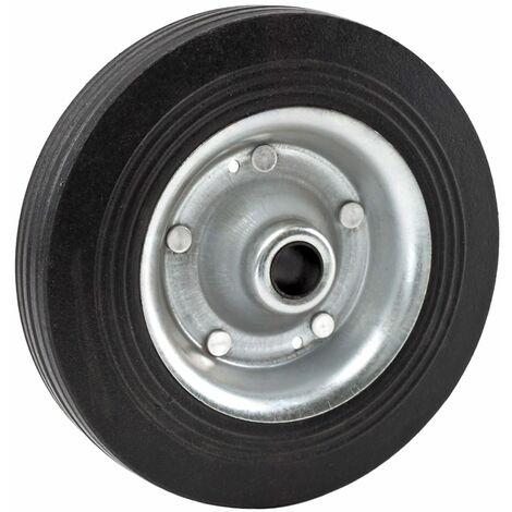 Vollgummi Metall Ersatz Rad Reifen zu Stützrad Stütze Anhänger Wohnwagen