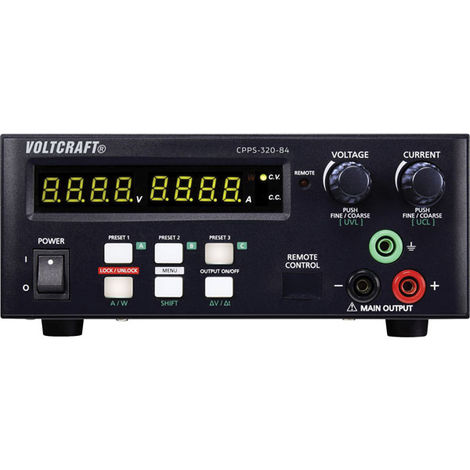 Voltcraft CPPS-320-84 Bench PSU 320W USB Remote Controlled