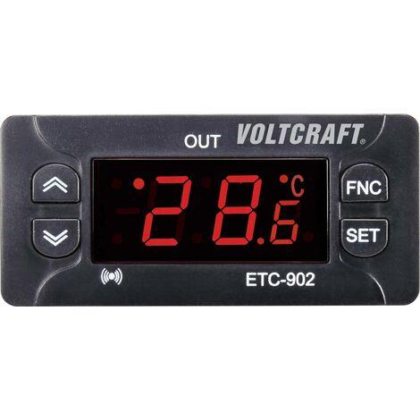 VOLTCRAFT ETC-902 Temperaturregler NTC, PTC -30 bis 50°C Relais 10A (L x B x H) 58 x 77 x 34.5mm Y605721