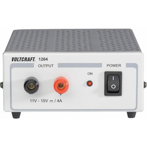 Voltcraft FSP 1204 4A Fixed Voltage Switch Mode Power Supply