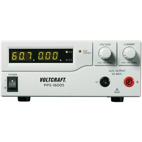 Voltcraft PPS-16005 360W Dual Output Programmable DC Power Supply Switched Mode