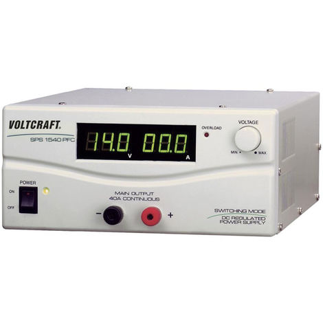 Voltcraft SPS 1540 PFC 600W Single Output DC Power Supply